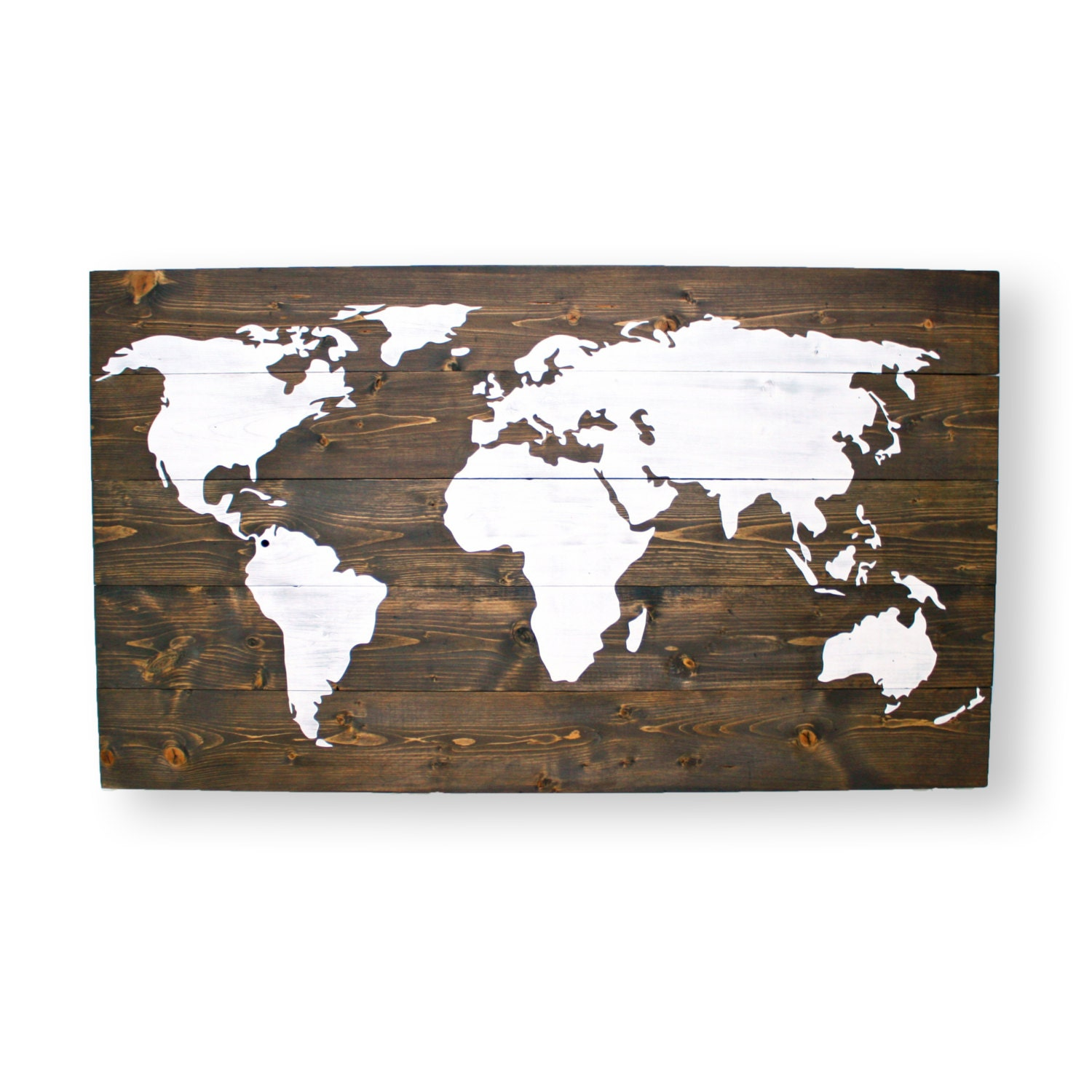 World Map Nursery Wall Art Travel Nursery Decor