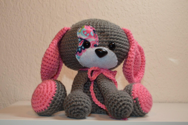 Domino The Dog Amigurumi Crochet Pattern : Domino the dog amigurumi puppy crochet puppy by ...