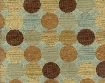 Spa Circle Polyester Fabric