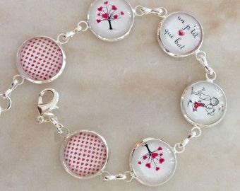 Delicate bracelet In love