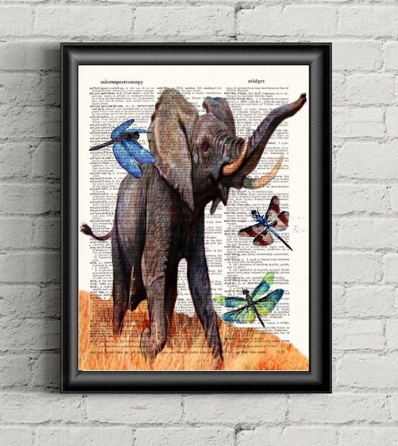 Items similar to black friday african elephant with African elephant home decor