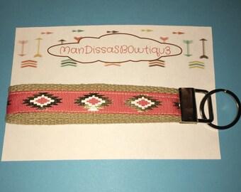 Aztec Key Fob Wristlet