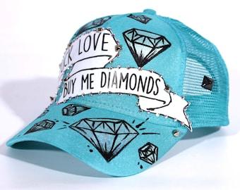 F*ck Love, Buy Me Diamonds Snapback Hat