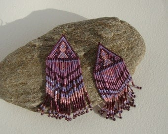 Bohemian chic, gypsy earrings