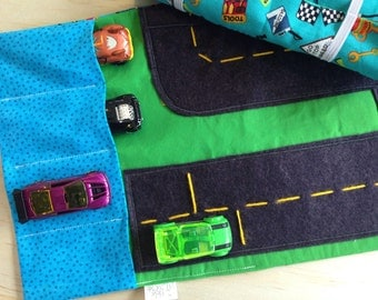 Car Wallet/ Travel Wallet/ Matchbox Cars Carrier/ Toy Pouch