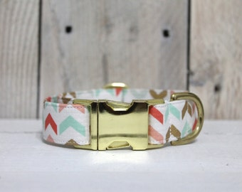 Glitz & Glam Chevrons Dog Collar