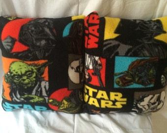 Fleece Star Wars throw pillow pair