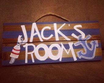 Jack's Room Sign