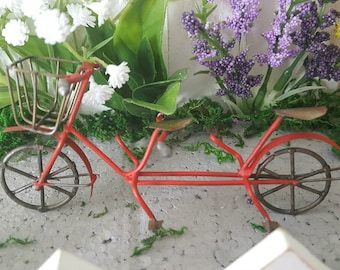 Miniature Bicycle Built for Two