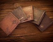 Mens wallet, leather wallet, groomsmen gift, dad gift, boyfriend gift, father gift, mens gift, gifts for him,