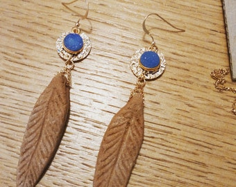 "Goldfilled earrings gold ""Alondra Shiny"""