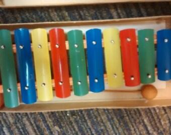 Vintage Children's Xylophone