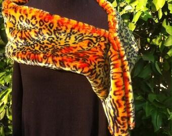 Beautiful Handmade Faux Fur Wrap