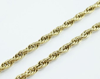 "Antique Gold Filled Chain 19.25"" Inch Gold-filled for gold filled jewelry making Item#789222041199"