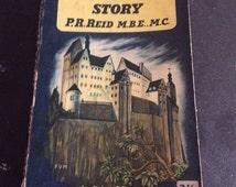 The Colditz story - world war 2 book - military book - Kitsch book - army book - P.R Reid - prisoner of war - escape - adventure book