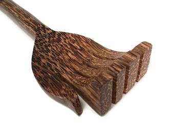 Back Scratcher Palm Wood