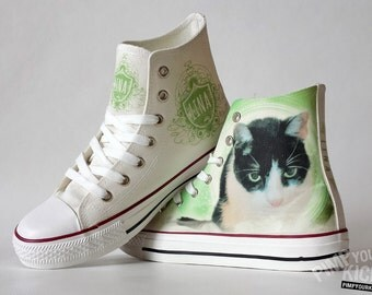 Shoes with your pet (name and photo)