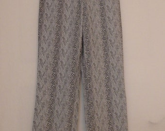 Vintage pants, snake - look, 80 of-> FREE SHIPPING