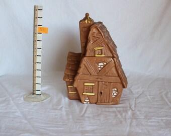 Cute House Cookie Jar