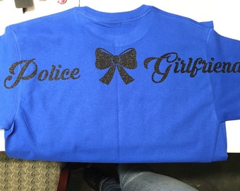 Police Girlfriend shirt