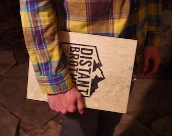 Custom Wooden Clipboard