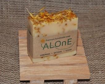 Calendula and Lemongrass Vegan Soap Bar