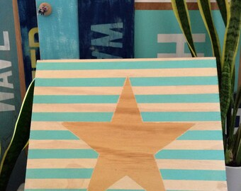 Star and Stripes Sign