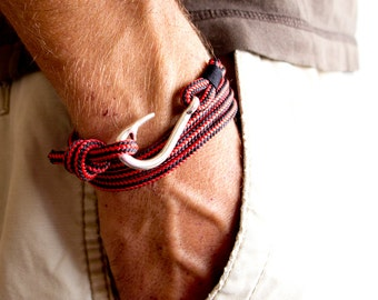 Summer Sale, Nautical Bracelet, Men Women Bracelet, Gift For Dad, Tom Hope Bracelet