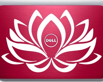 Blue Lotus Flower Decal, Macbook Cover Stickers, Gifts for Students, Mac Pro Decal, Macbook Skin, Laptop Decal Stickers, Computer Decals