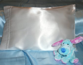 Satin Baby Pillow with Pillowcase