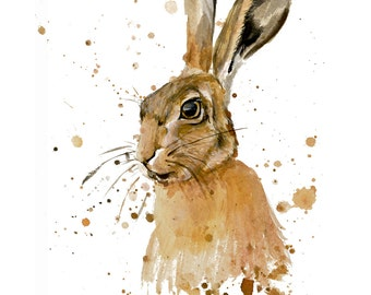 Harry Hare- Limited Edition Signed Print
