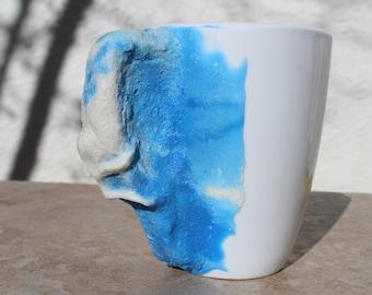 Rock Climber Mug (Blue)