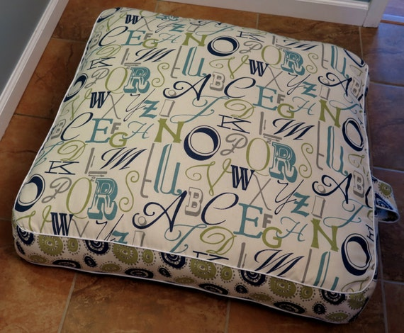 Square Floor Pillow by Sewation on Etsy