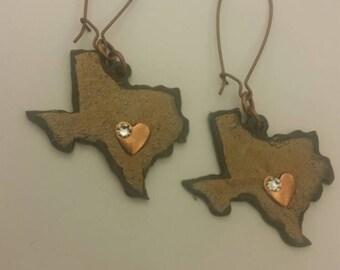 Deep in the heart of Texas Earrings