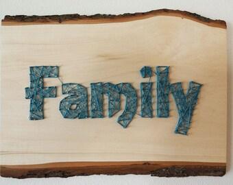 """String Art """"Family"""""""