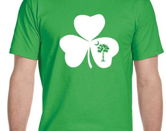 St. Patty's T-Shirt-SC Shamrock