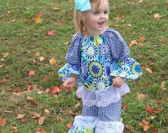 Baby Girl Ruffle Outfit - Unique Girls Outfit