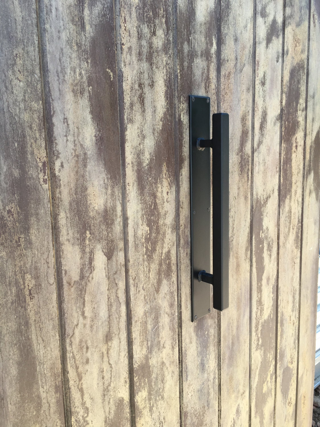 barn door handle 1 x 1 square handle modern style door handle wrought iron door handle. Black Bedroom Furniture Sets. Home Design Ideas