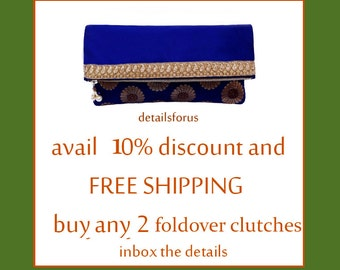 fold over clutch discount coupon