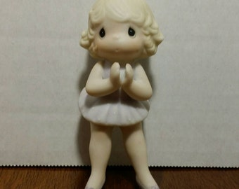 1986 Enesco Precious Moments Ballerina Ornament