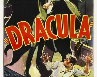 Dracula Bela Lugosi Vintage Print 1931 version 2