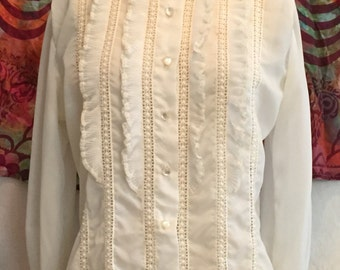 Lace-y Victorian Style Blouse