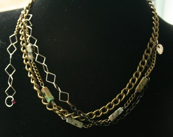 Necklace Earth and sea