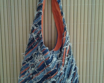 Denim Tote Bag Lined - DB0021