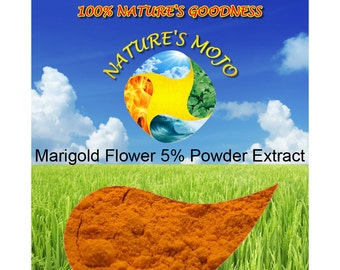 Marigold Flower 5% Lutein Powder Extract 100G