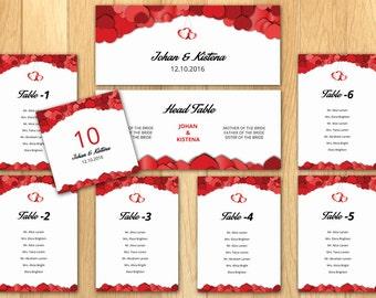 sale wedding seating chart poster template printable wedding. Black Bedroom Furniture Sets. Home Design Ideas