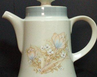 Vintage Noritake Stoneware 'Autumn Day' #8353 Tea / Coffee Pot