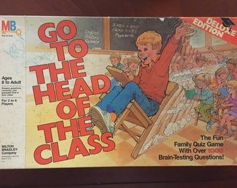 Vintage Game: Go To The Head Of The Class