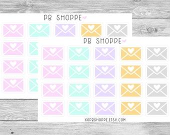 20 Envelope Stickers