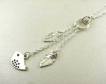 Necklace - bird flight